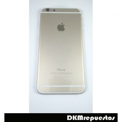 Carcasa tapa bateria IPHONE 6 PLUS gold, oro