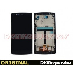 Pantalla LCD Display Y Tactil con Marco para LG Optimus G Flex 2 H955 - Negro