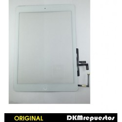 Pantalla tactil IPAD AIR Blanca con boton HOME