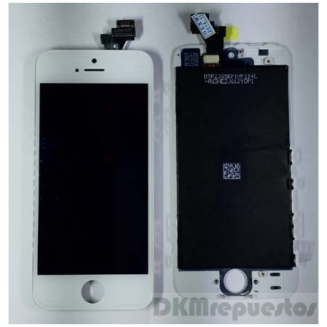 Pantalla  Iphone 5 Blanca